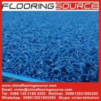 Buy cheap PVC Cushion Coil Mat Vinyl looped mat Non-slip wet area from Wholesalers