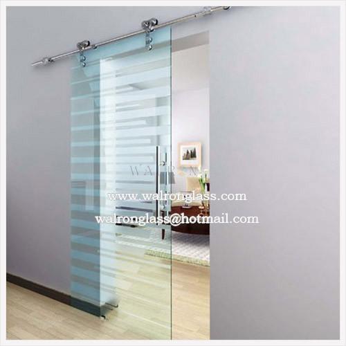 Frameless Interior Glass Sliding Door 105003510
