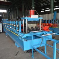Buy cheap Two Wave 55KW Power Guardrail Roll Forming Machine Gearbox Or Chain Transmission product