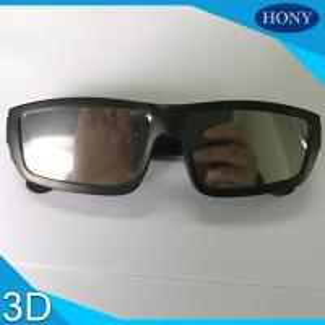 Buy cheap Scratch Resistant Black Plastic Frame solar observing glasses Mirror Effect Solar Eclipse Film product