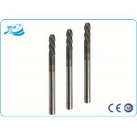 China 55 / 60 / 65 Hardness Hard Milling End Mill with 50 - 100 mm Overall Length on sale