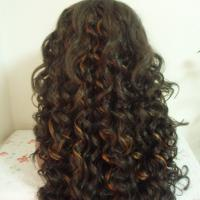 Buy cheap High quality Fashion style Heat resistant fiber Wave Synthetic Lace Front Wigs product