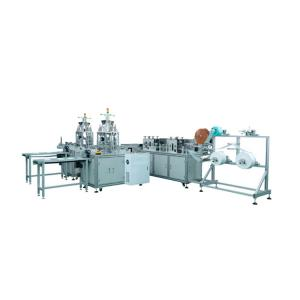 Buy cheap Flat Ribbon Earloop 3 Layers Face Mask Making Machine product