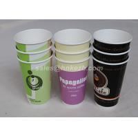 China 16oz - 22oz Disposable Hot Beverage Cups , To Go Coffee Cups With Lids For Drinking on sale