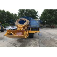 Buy cheap Building Concrete Mobile Mixer , Durable Small Size Concrete Mixer Machine product