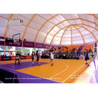 Buy cheap High quality big clear span aluminum frame tent for sports event, Sport Tent for Outdoor Basketball Game product