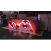Buy cheap Indoor Full Color 3.9 Rental Curved Led Display Stage Led Screen With 140º Viewing Angle product