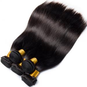 Double Weft Straight Virgin Human Hair Bundles 8A Grade Free Tangle No Shedding