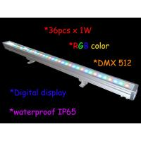 Buy cheap 1000mm Length 36pcs 3w Rgb Outdoor led wall washer ip65 / Stage Light Decor product