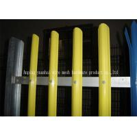 Fashionable Design Metal Palisade Fencing Yellow Color For Sightseeing Zone