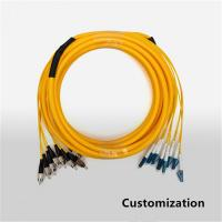 Buy cheap Fiber Optic Patch Cord SC/FC/LC/ST Connector Single Mode Customizing Patch Cable product
