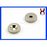 China Custom Countersunk Rare Earth Magnets , Strong Countersunk Neodymium Magnets on sale