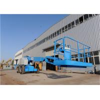 China Boom Rotation 360° Electric Articulating Boom Lift Multiple Functions Fast Pacing Speed on sale