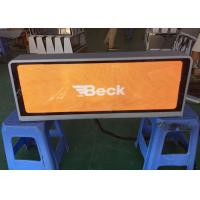 Buy cheap P2.5 Taxi Mobile LED Display For Outdoor Advertising Full Color  Car Top Led Display Most High Definition Taxi Led product