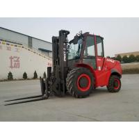 Buy cheap 3 ton 5 ton 2WD 4WD Rough Terrain Forklift with new design and High exhaust product