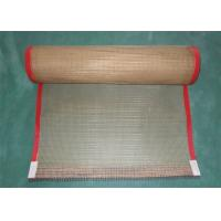 Buy cheap Leno Weaving Coated Fiberglass Mesh Conveyor Belt Fabric High Temperature Resistant product