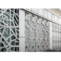 Buy cheap Four Categories Structure Decorative Steel Panels , Anti Rusted Decorative Metal Screen product