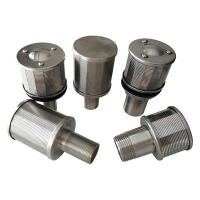 Buy cheap Sugar mill stainless steel filter nozzle strainer screen product