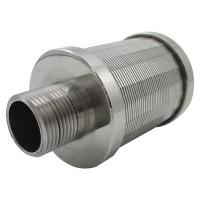 Buy cheap Stainless Steel Johnson Ion Exchange Nozzles Filter product