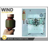 Buy cheap Armature Winder Rotor Winding Machine Two Flier Slotted Commutator PMDC Motor product