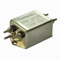 EMI Filter without Connectors, Screw Output Terminals M-4 (YE-T4) YE05T1