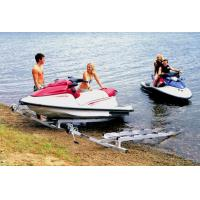 China Aluminium inflatable boat trailer on sale