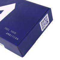 Buy cheap Gold stamping folding corrugated paper clothing packaging box product