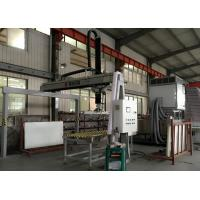 China Horizontal motion Glass Unloading Machine For Toughened Glass With Sucking Disc on sale