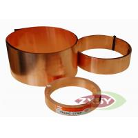 Buy cheap Insulation Adhesive Alloys Of Copper Foil 1380mm Width 0.14mm Thickness product