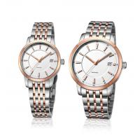 Buy cheap Ladies Fashion Wrist Watch Stainless Steel  Quartz Couple Lovers Watch OEM Men Fashion Watch product