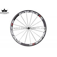 Buy cheap 700C full carbon road bike wheel DURA-ACE C35 38mm clincher tubular carbon wheelset product