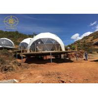 Quality Wedding Party Geo Dome Tent Geodesic Inflatable Tent Portable Weatherproof for sale