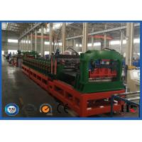 Buy cheap PLC System Steel Corrugated Side Panel Silo Roll Forming Machine High Speed 12-15m / Min product