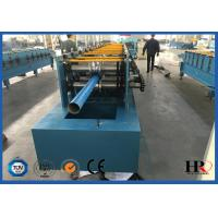 Buy cheap 4kw Rain Gutter Roll Forming Machine For K Style Gutter / Half Round Gutter product