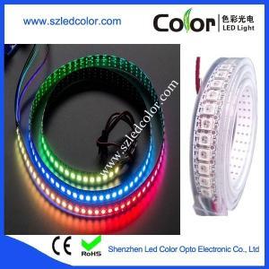 Buy cheap ws2812b apa104 waterproof rgb led strip ip67 waterproof product
