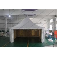 Buy cheap Aluminum Structure High Peak Tents 6m x 6m , Free Span Space High Peak Pole Tent product