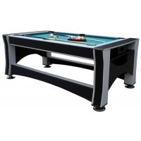 China Deluxe 7FT  Multi Function Game Table Flip 3 In 1 Game Table  Billiards For Club on sale