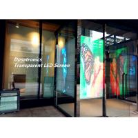 Buy cheap High Brightness Transparent LED Display P5 mm Stage LED Screens 6500 NIts product