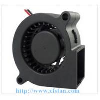 China 50*50*15mm 5V/12V DC Blower DC Black Plastic Brushless Cooling Fan Blower 5015 on sale