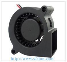 Buy cheap 50*50*15mm 5V/12V DC Blower DC Black Plastic Brushless Cooling Fan Blower 5015 product