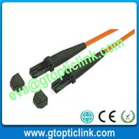 Buy cheap MTRJ Multimode Fiber Optic Patch Cable product