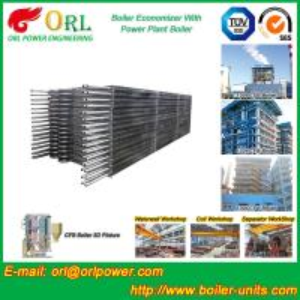 Buy cheap Condensing CFB Boiler Economizer Coil / Economiser In Power Plant power plant economizer product