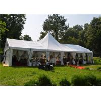 Buy cheap Long Life Span Big Clear Span Aluminum Frame White PVC Cover Removeble product