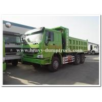Buy cheap HOWO  336 hp new condition diesel fuel type dump truck with Q345 Steel heavy tipper product