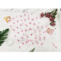 Buy cheap Flamingo Printed Zip Lock Plastic Bag For Product Packing Socks Clothes Travel product
