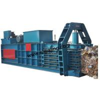 Buy cheap Horizontal hydraulic baler machine product