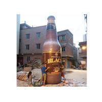 China Attractive Inflatable Beer Bottle , Inflatable Replicas For Special Event / Advertising on sale