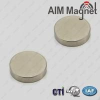 Buy cheap Znic Plated D4*5mm Cylinder Ndfeb Magnet product