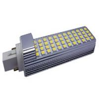 Buy cheap Dimming 722lm 52pcs 5050 SMD Led G24 Light Bulbs 9W for Vehicle Lighting product