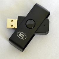 Buy cheap Portable Smart Card Reader USB ACR38U-N1 CAC Common Access Writer ID SCM Fold product